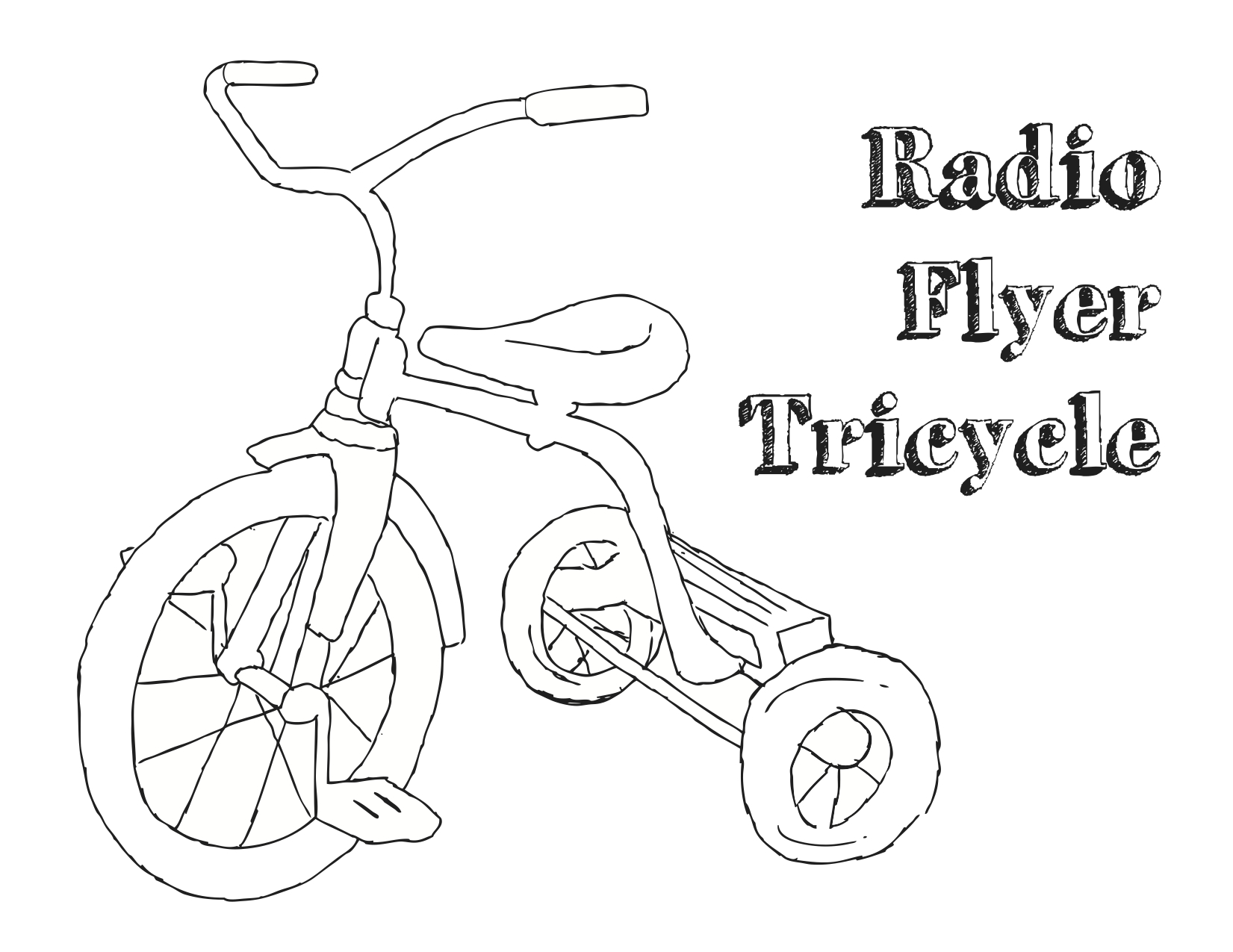 Bicycle With Training Wheels Coloring Pages Coloring Pages
