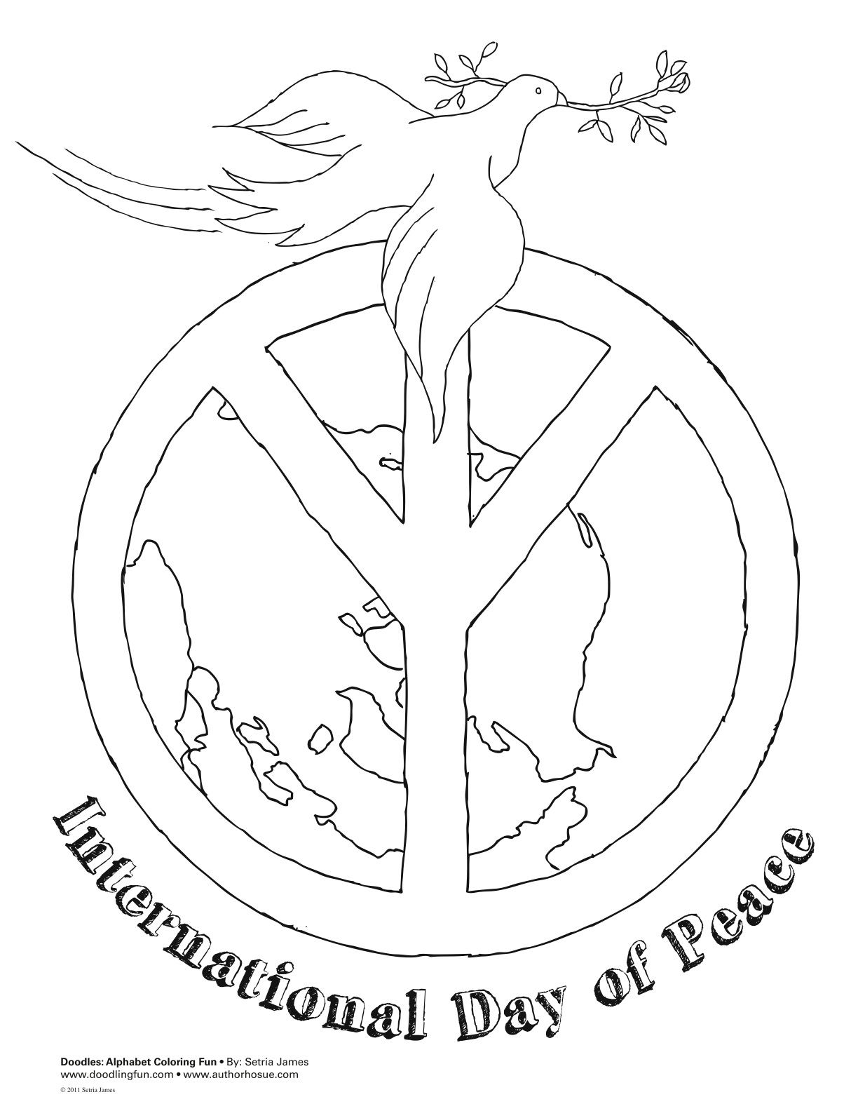peace coloring pages - photo#22