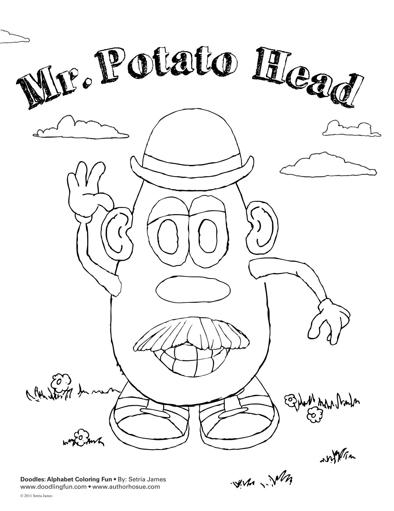 Mr Potato Head Doodle Doodles Ave