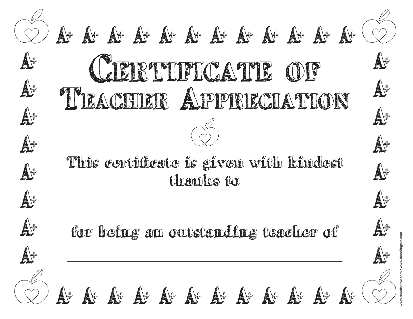 Best teacher certificate coloring pages murderthestout for Best teacher coloring pages