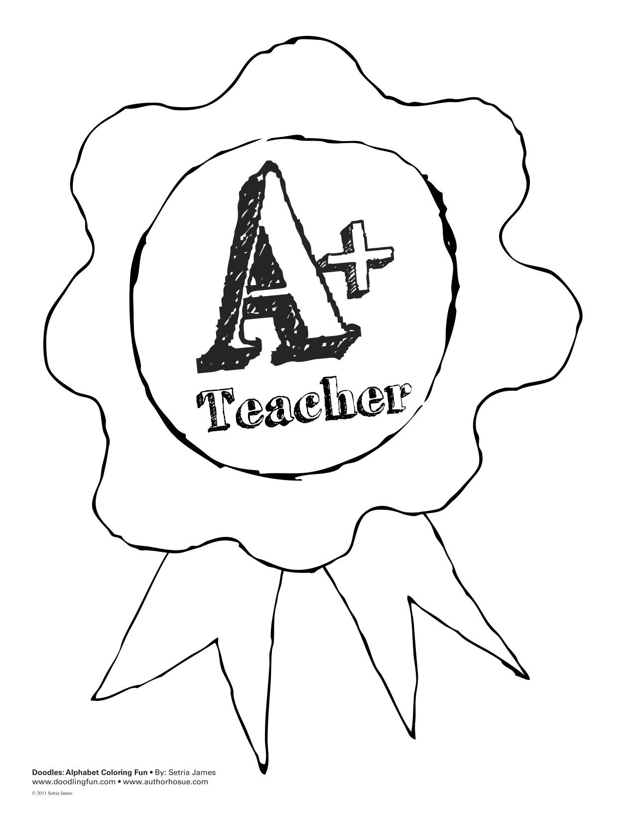 Clip Art Teacher Appreciation Coloring Pages teacher appreciation coloring pages eassume com doodles ave