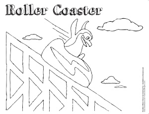 Six Flags Coloring Pages Coloring Pages