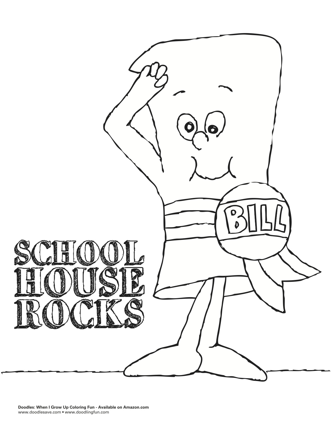 Schoolhouse coloring pages printables preschool school for Schoolhouse coloring pages