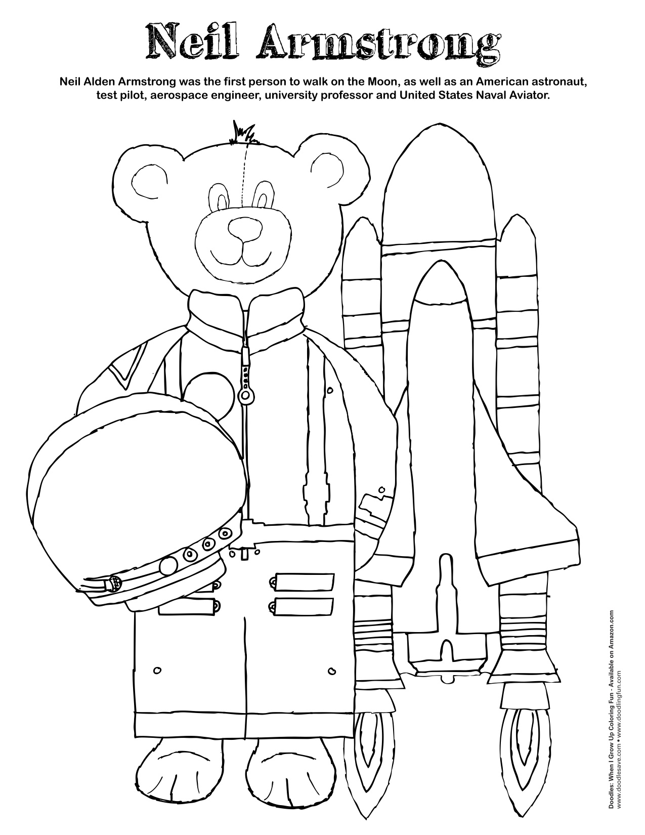 Neil Armstrong Costume Printables - Pics about space