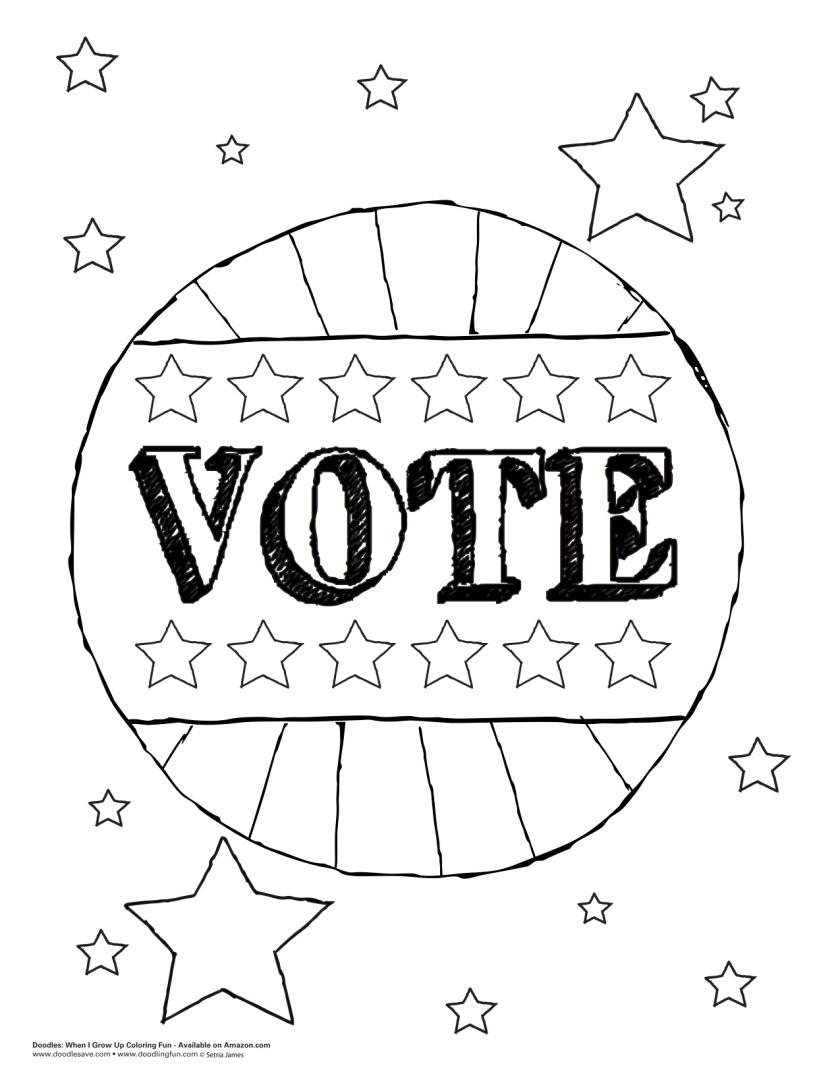 vote doodle  doodles ave