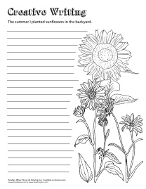 Writing Prompt_Sunflower