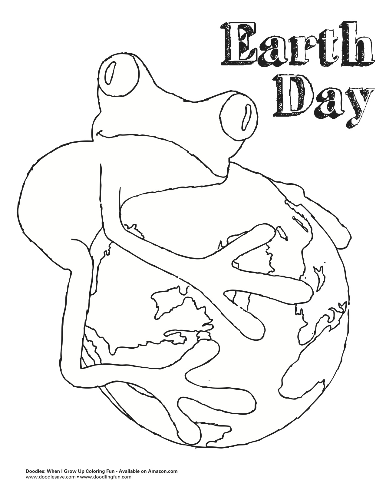 earth day coloring pages 2013 - photo#19