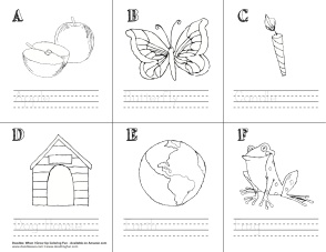 Word-Image-Penmanship Activity_ABC