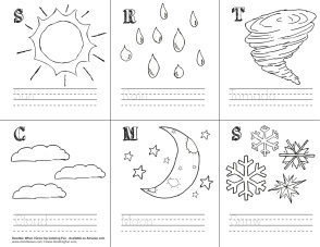Word-Image-Penmanship Activity_Weather