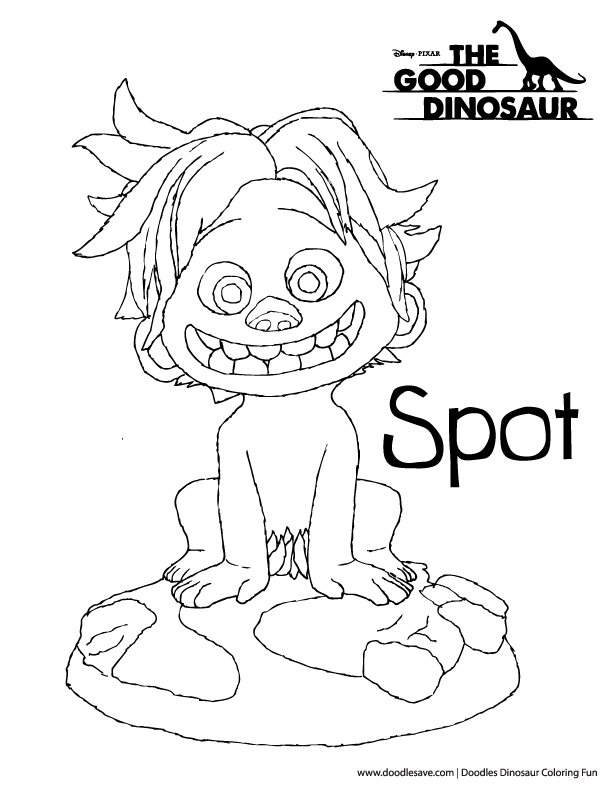 kids spot coloring pages - photo#29