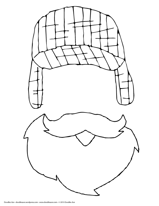 printable lumberjack coloring pages - photo#22