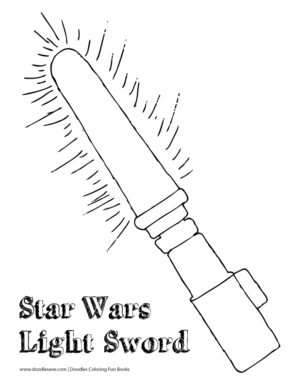 crayola coloring pages star wars | Star Wars The Force Awakens Coloring Sheets | Doodles Ave