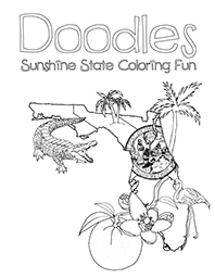 doodles-ave-sunshine-state-florida-coloring-page
