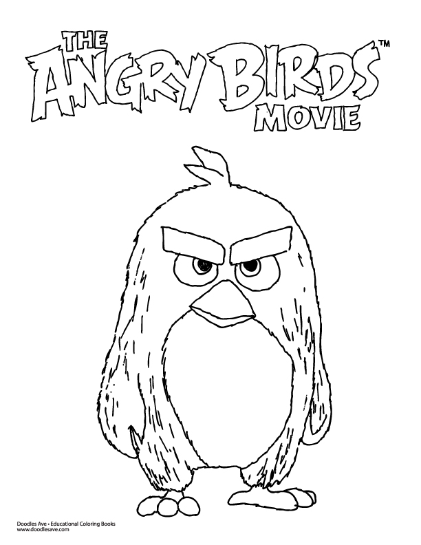 Angry Birds Movie Doodles | Doodles Ave