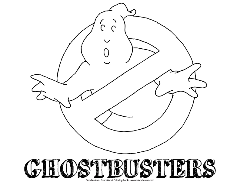 Ghostbusters Doodle