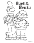 mencoret-coret ICE Bert dan Ernie