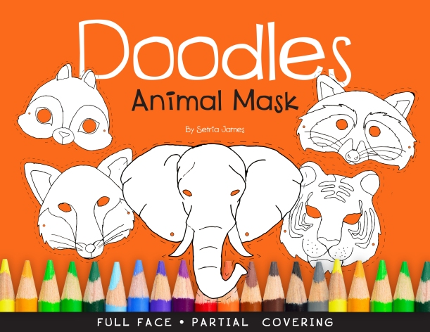 Doodles Animal Mask